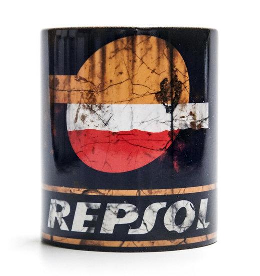 Repsol Oil, Mud and Racing 11oz Mug