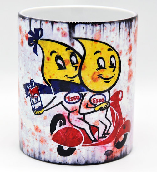 Esso Scooter Oil, Mud and Racing 11oz Mug