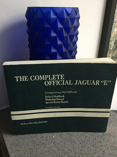 Jaguar E TYPE Robert Bentley Handbook-Workshop & Special Tuning Manual 3.8&4.2