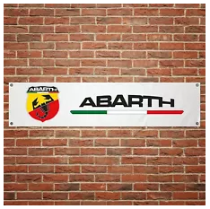Fiat Abarth PVC Banner (1300mm by 300mm)