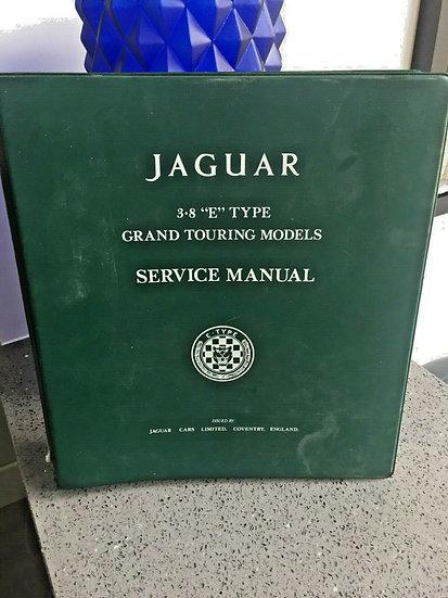 Jaguar E TYPE Series 1 and 2 - 3.8 & 4.2 Factory Workshop Manual