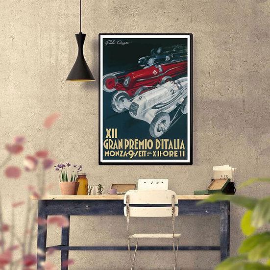 Art Deco Gran Premio Italia Monza