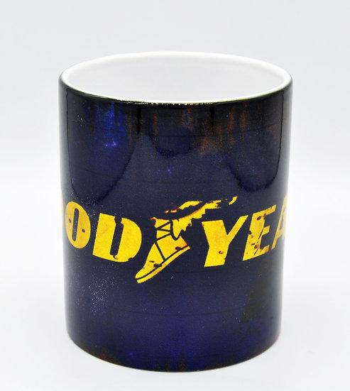 Goodyear Tyres Oil, Mud and Racing 11oz Mug