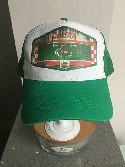 Castrol R Racing Motor Oil , Oil, Mud and Racing Unisex Cap