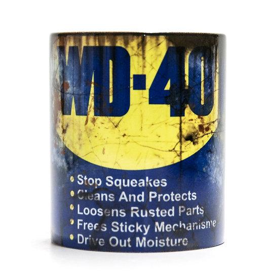 WD40 Oil, Mud and Racing 11oz Mug