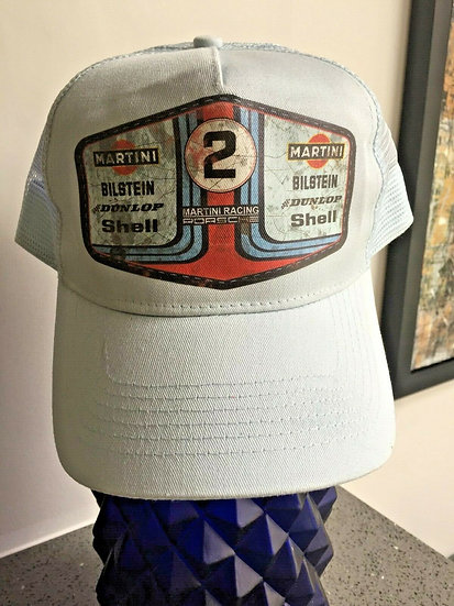 Martini Porsche , Oil, Mud and Racing Unisex Cap