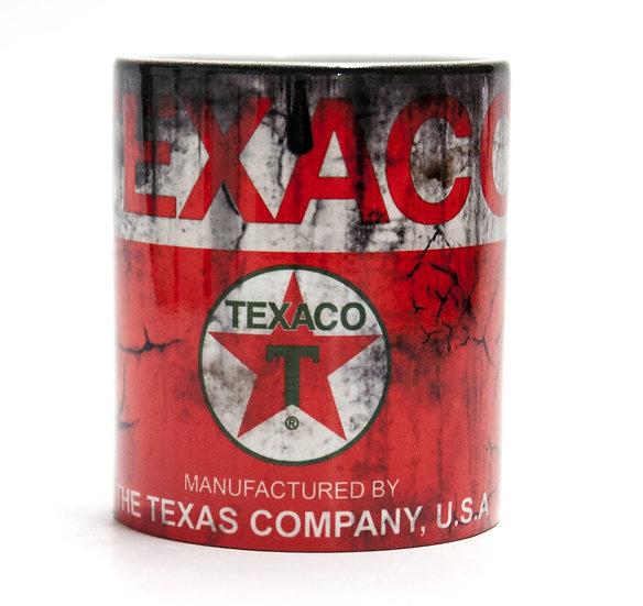 Texaco Racing Oil, Mud and Racing 11oz Mug