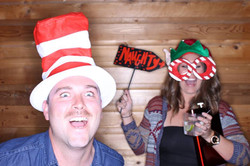 Christmas party photo booth destin