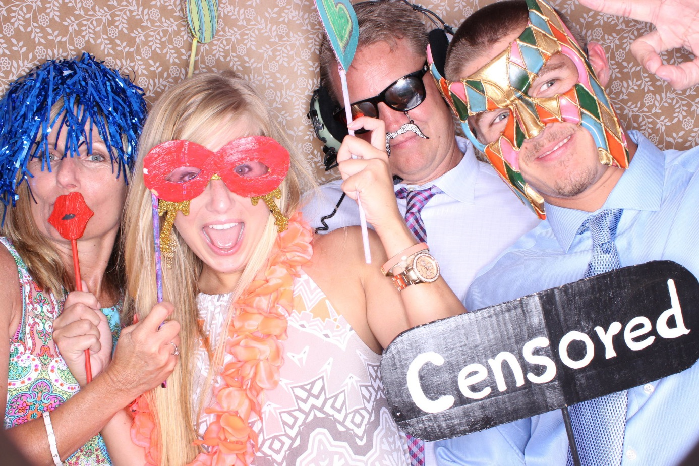 eglin Bayview club photo booth