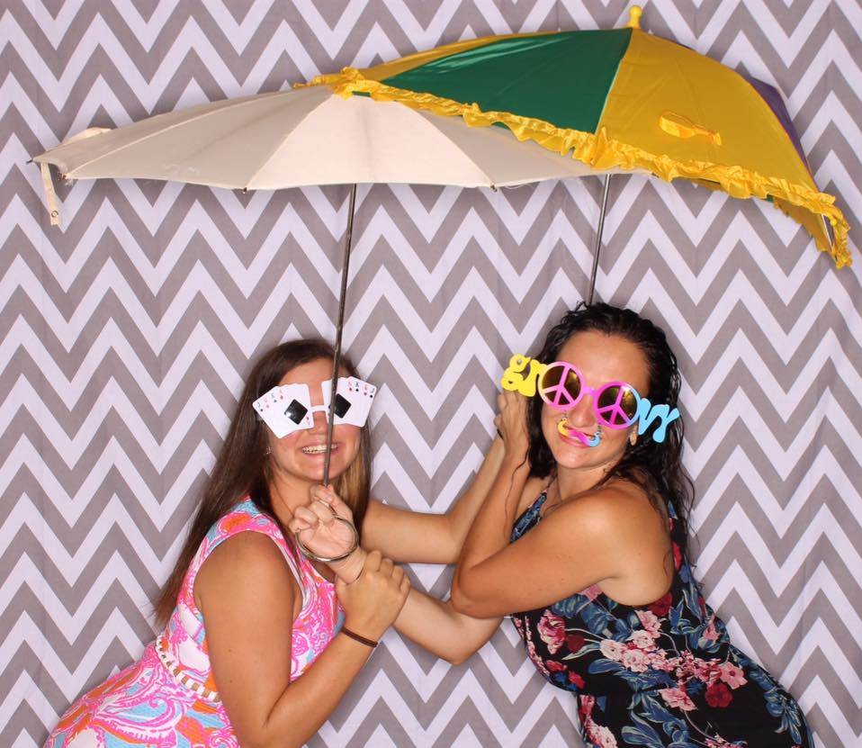mardi gras photo booth fort Walton b