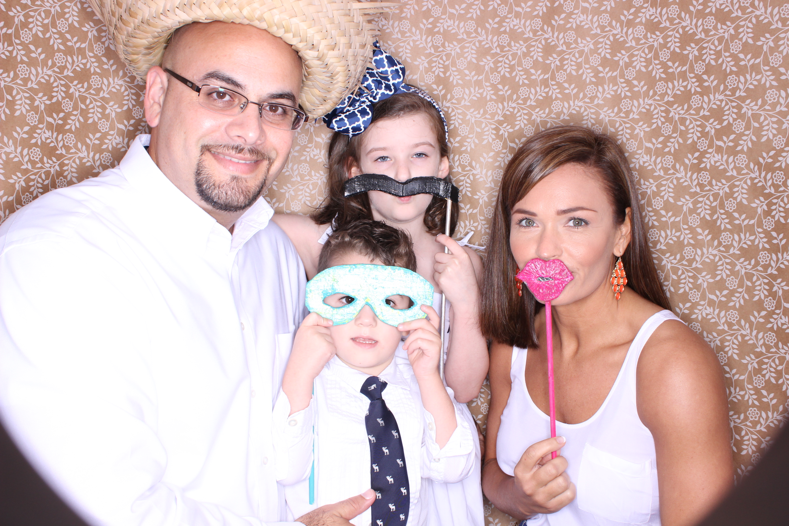 destin bay house photo booth