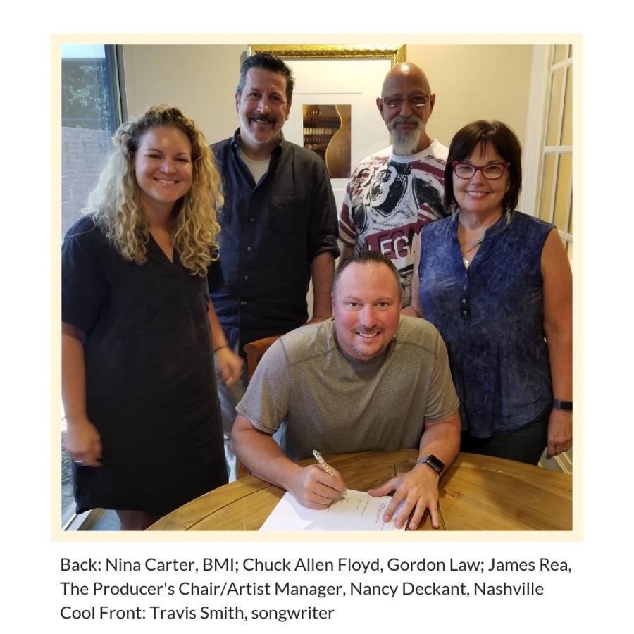 Travis Smith Signing