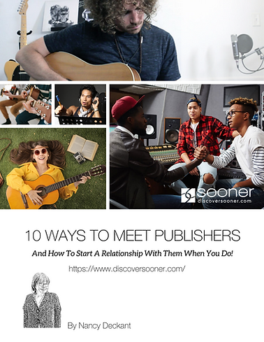 10 Ways To Meet Publishers Cover