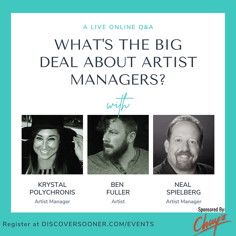 What's The Big Deal About Artist Managers? Oct 21