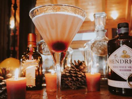 Opera-Inspired Halloween Cocktail