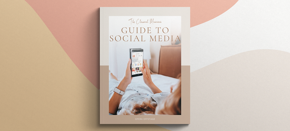 The Classical Musician's Guide to Social Media