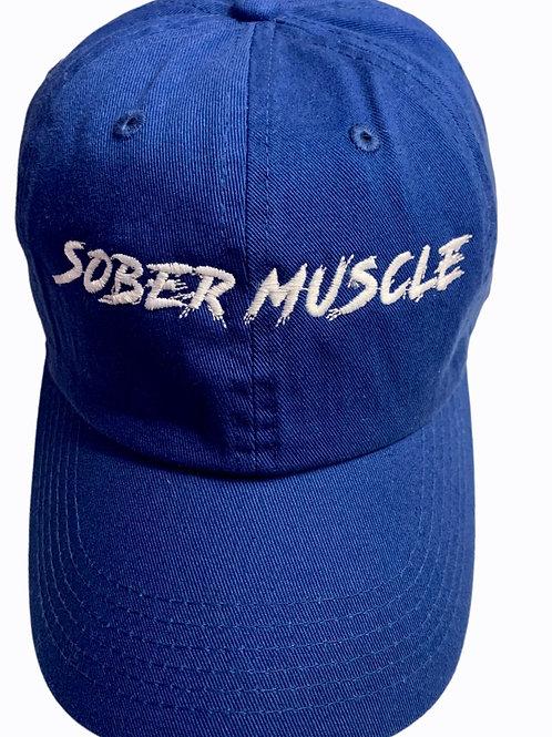 Blue SM Dad Hat