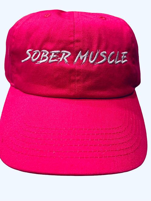 Pink SM Dad Hat