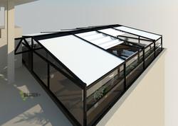 Визуализация террассы на крыше