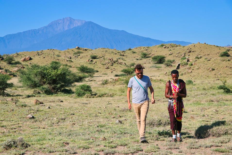 wandeling Tanzania