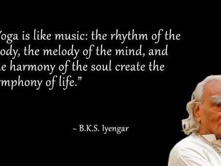 Yoga.... and Music
