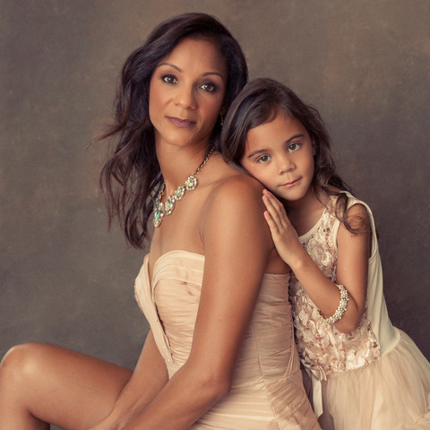 Mother & Daughter Portrait