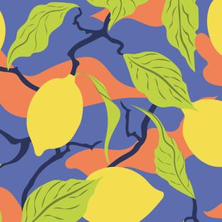 Motif Citrons Adeline Waeles Design