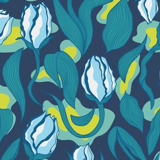 Motif Tulipes Adeline Waeles Design