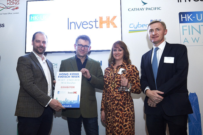 Railsbank recognised by the the Hong Kong Trade and Economic Office (London) at The InvestHK UK Fint
