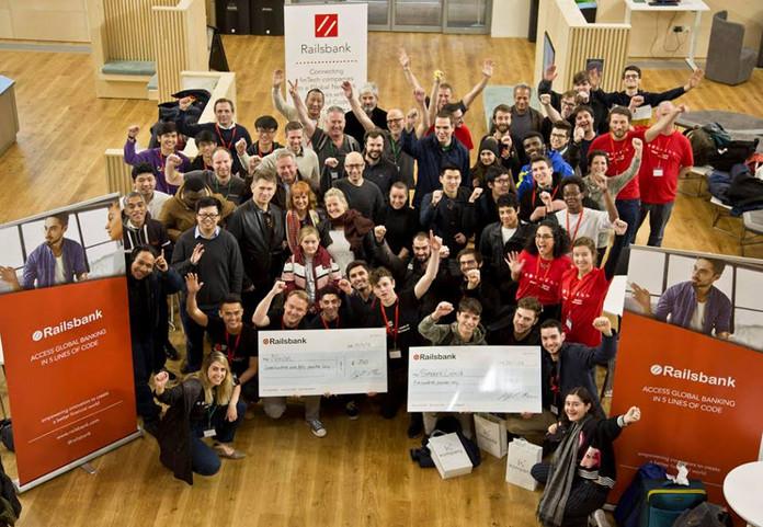Railsbank's #OpenBankHack18 winners announced