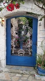 Tür auf Korfu - Christiane Spindler