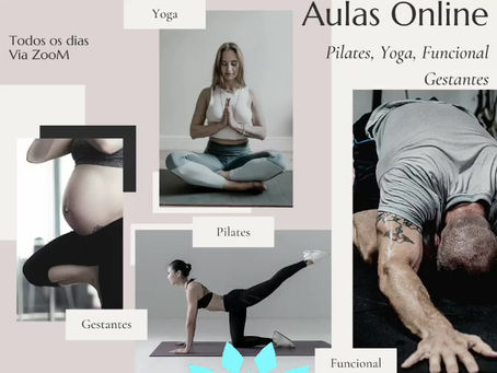 Aulas de Pilates, Yoga e funcional