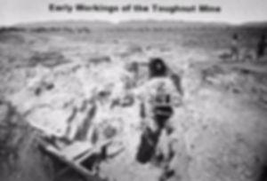 Early Workings of the Toughnut Mine Tombstone Arizona