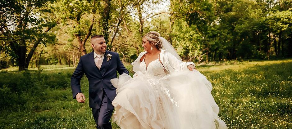 Bride & Groom - Outdoor Wedding Venue