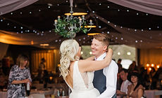 Happy bride and groom at Brookdale Farms Wedding - St. Louis Weddings - St. Louis Wedding Venue