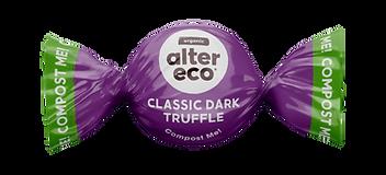 Image of a single classic dark truffle.