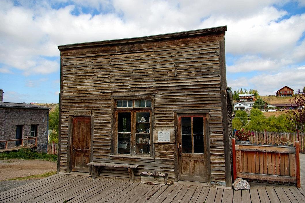 Hangman's Building Virginia City, MT
