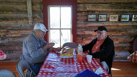 Lunch at the Linderman Cabin