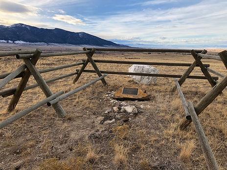 Pioneer Gravesite Montana