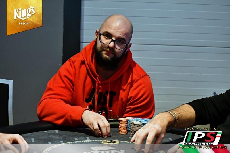 Dominique potenza poker chair