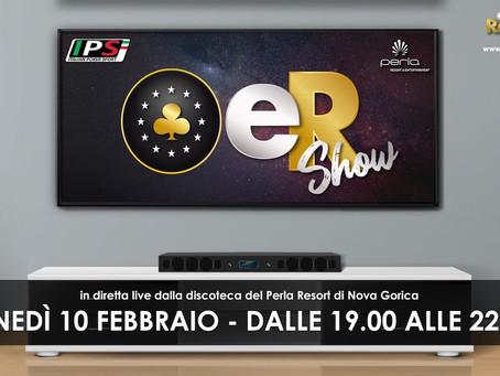 Tutti sul divano (o sul telefonino), dalle 19 alle 22 va in onda l'eR Show per IPS Nova Gorica!