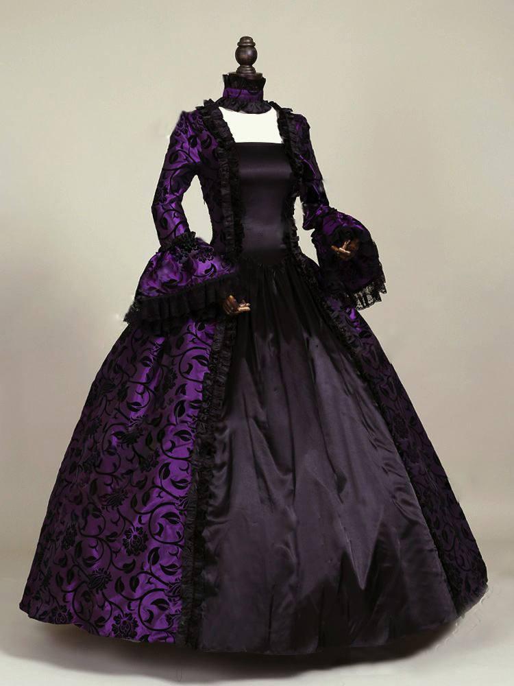 Robe Victoria violette