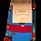Thumbnail: Blue & Red Kids Grouse Socks