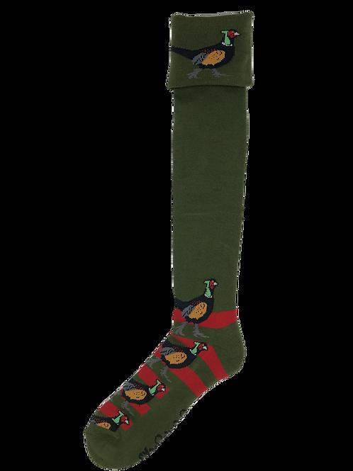 Red & Green Pheasant Shooting / Walking Socks
