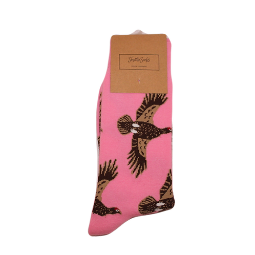 Pink Flying Grouse