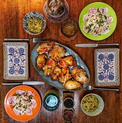Bruschetta con Kimchi, Kimchi Guacamole