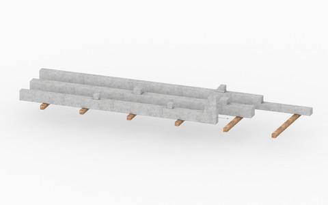 Pilares pré-moldados
