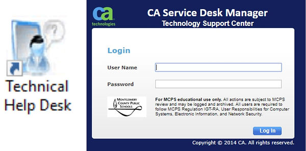 Technical helpdesk link and login.jpg