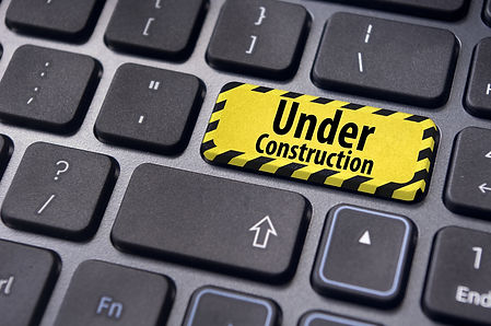 under construction message on enter key
