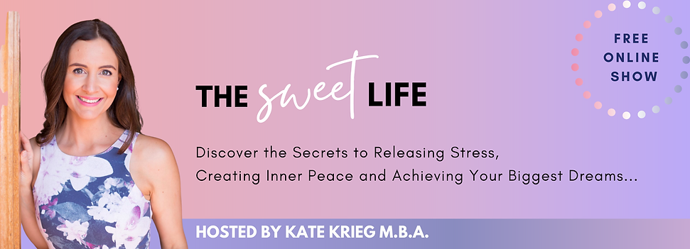 The Sweet Life Show Banner